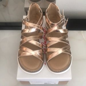 Hanna Andersson Girl's gladiator sandals